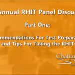 Health Information RHIT Cert. Exam Tips