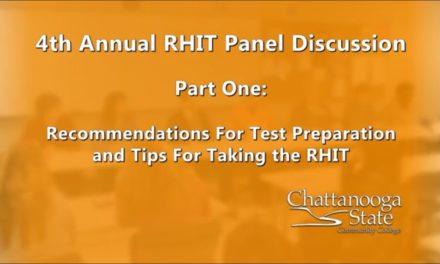 Health Information RHIT Cert. Exam Tips