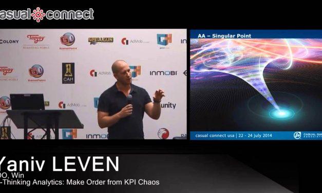 Re-Thinking Analytics: Make Order from KPI Chaos | Yaniv LEVEN